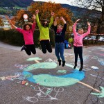Start des Klimaschulenprojektes war an Kreativität kaum zu übertreffen