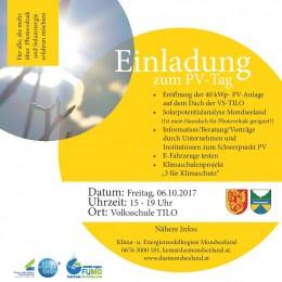 Einladung PV-Tag