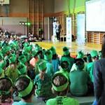 """Abschlussfest des Klimaschulenprojektes """"Mobilität gestern-heute-morgen"""""""