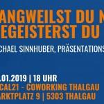 Präsentationsexperte im Local21 – Coworking in Thalgau