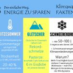ENERGIESPARTIPP NR. 18 & 19 – Klimawandelfakten in Österreich