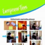 Energiespartipp von Schülern Nr. 2 & 3