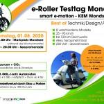 E-Roller-Testtag – Marktplatz & Seepromenade Mondsee