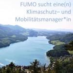 FUMO-Stellenanzeige zum regionalen Klimaschutz- und Mobilitätsmanager*in
