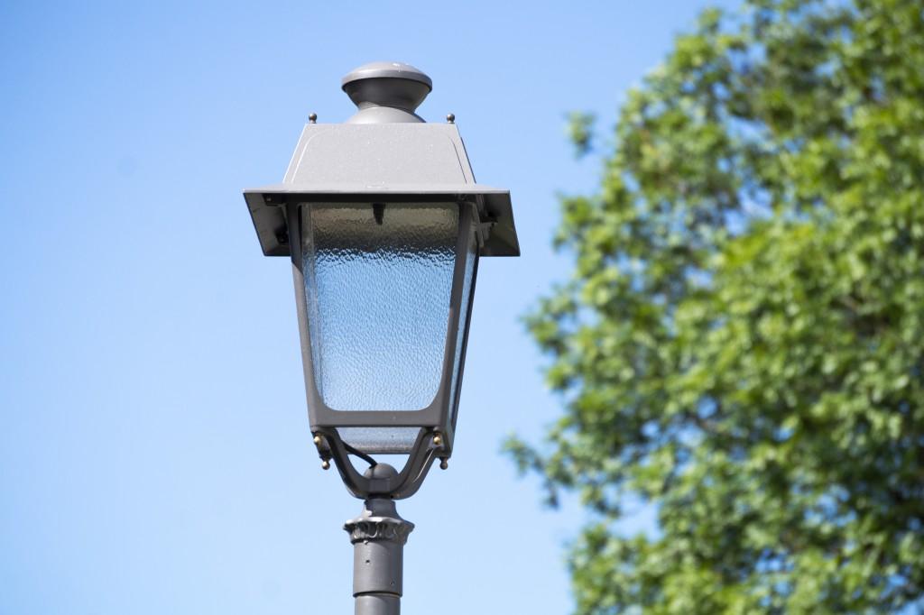 Straßenbeleuchtung Mondsee_Art 1