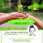 """Impulsvortrag """"Über Klimaschutz reden – ABER WIE?"""""""