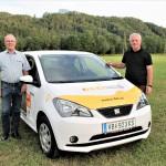 """""""e-DAXI"""" – das 1. Carsharing im Mondseeland"""